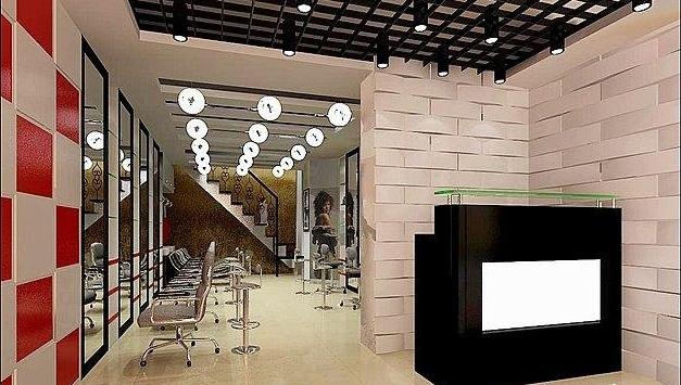 小面积发廊装修图片 20小发廊装修图片 小发廊装修效果图