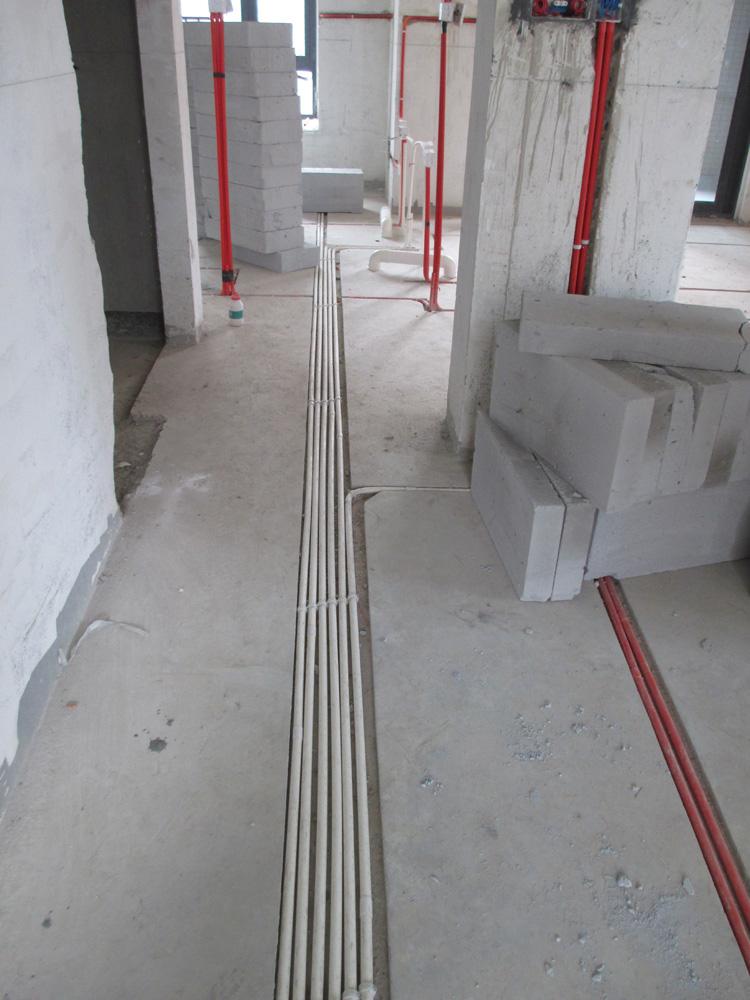 水电施工照 杭州家装公司 室内装饰设计 杭州家庭装修