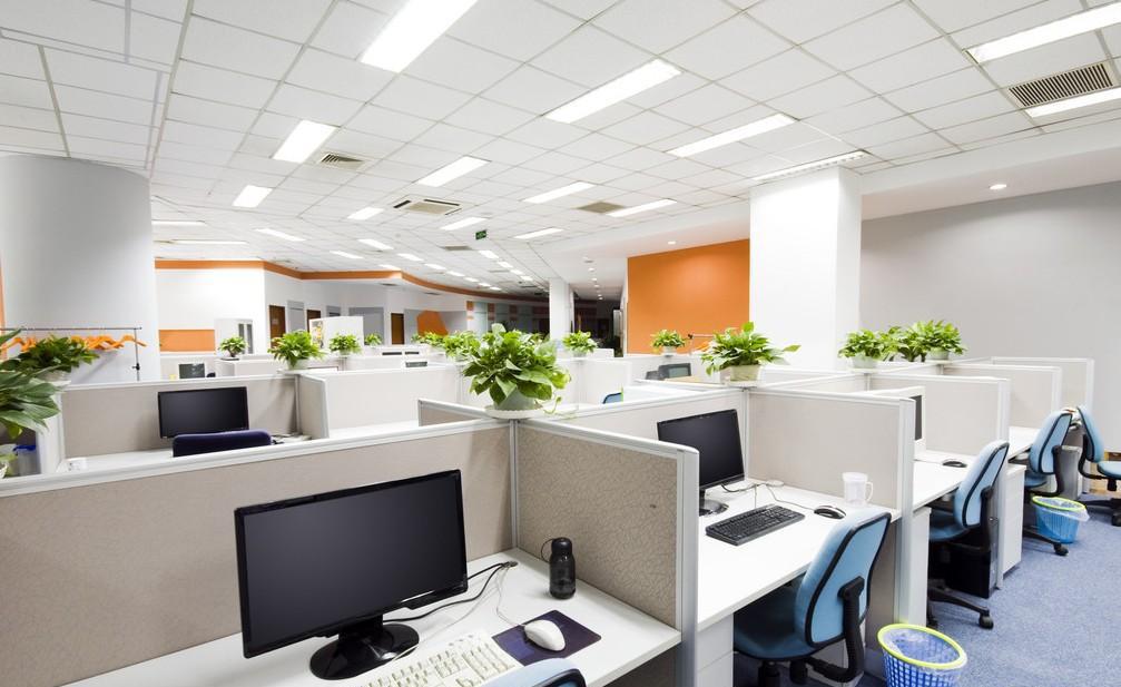 杭州办公室装修效果图 写字楼室内装修设计